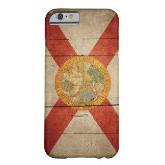 Ojämn Wood Florida flagga Barely There iPhone 6 Skal