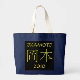 Okamoto Monogram Jumbo Tygkasse