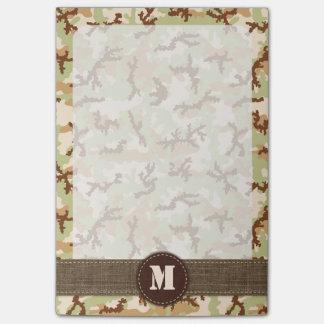 Ökenkamouflage Post-it Lappar