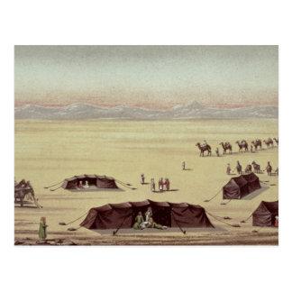 Ökenlägret av herr Richard Burton Vykort