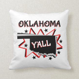 Oklahoma statlig pride dig dekorativ kudde