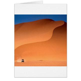 Öknar Sahara Algeriet Hälsningskort