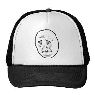 Okt grabbursinneansikte Meme Baseball Hat