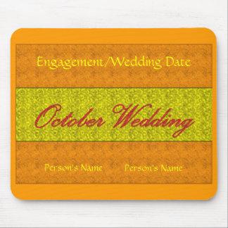 """""""Oktober bröllop"""" Mousepad - anpassade Musmattor"""