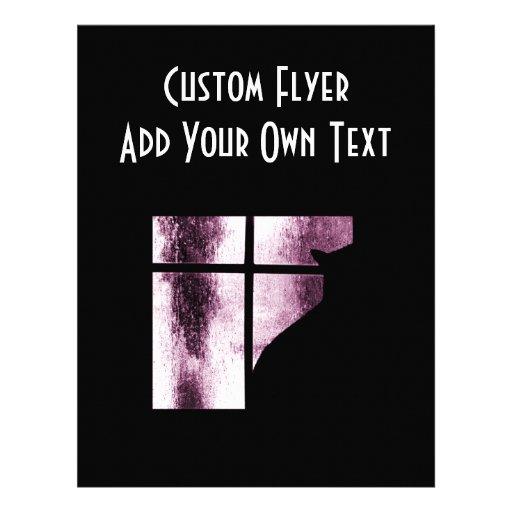 Oktober duschar kattsilhouetten på fönsterrosor custom flyer
