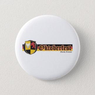 Oktoberfest-Fest-Baner Standard Knapp Rund 5.7 Cm