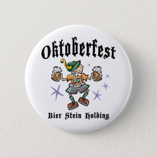 Oktoberfest för BierStein innehav Standard Knapp Rund 5.7 Cm