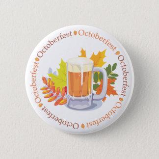 Oktoberfest i rundan standard knapp rund 5.7 cm