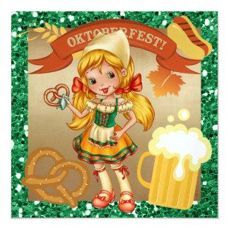 OKTOBERFEST/oktoberfest - SRF Fyrkantigt 13,3 Cm Inbjudningskort