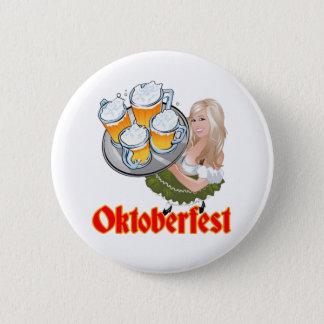 Oktoberfest Standard Knapp Rund 5.7 Cm