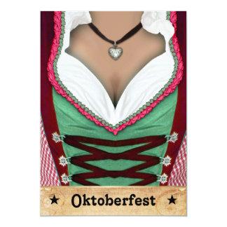 Oktoberfestinbjudan 12,7 X 17,8 Cm Inbjudningskort