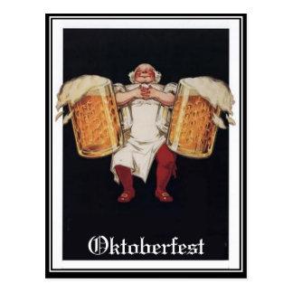 Oktoberfestvintagevykort Vykort
