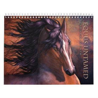 Okuvad hästkalender för Equus Kalender