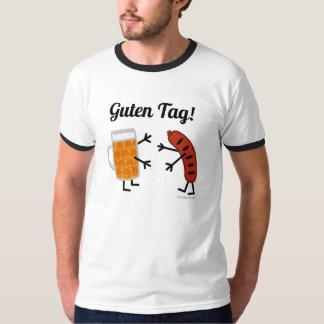 Öl & Bratwurst - Guten märkre! - Roliga Foodie T-shirt