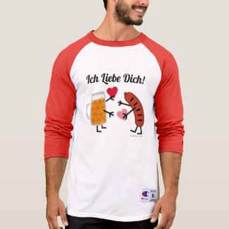 Öl & Bratwurst - Ich Liebe Dich! (Jag älskar dig), T Shirts
