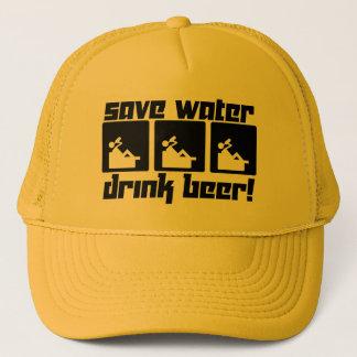 Öl för sparavattendrink! keps