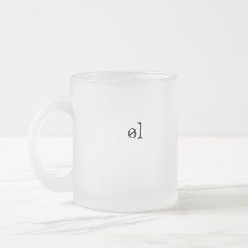 øl kaffe kopp