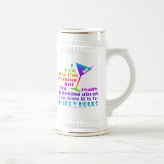 Öl Stein - hur Long till den lyckliga timmen Sejdel