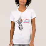 Olaf - jag älskar varma kramar t-shirt