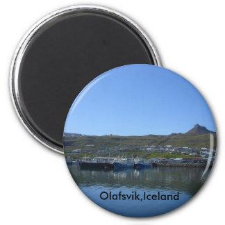 Olafsvik island magnet