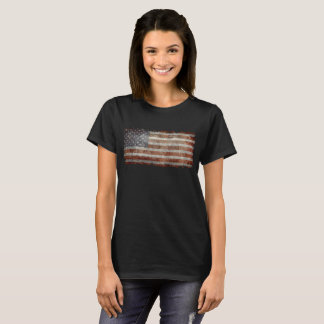 Old glory - amerikanska flaggan t-shirts
