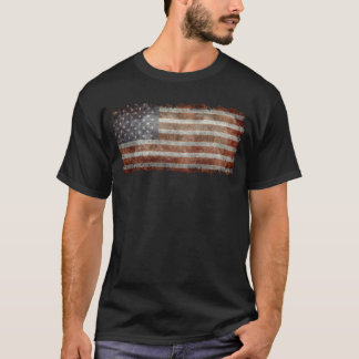 Old glory - amerikanska flaggan tee shirt