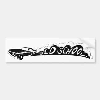 Old school Camaro - bildekal
