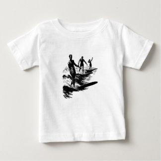 Old school som surfar skjortan tee shirts