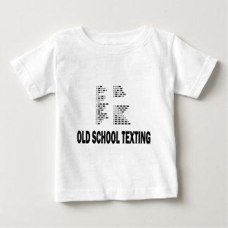 Old school Texting Tee Shirts