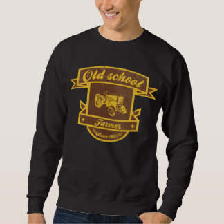 Old schoolbonde lång ärmad tröja