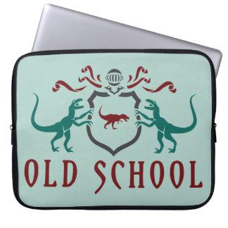 Old schoolfärgDinosaur Laptop Sleeve