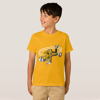 Old schoolhip hop Breakdancer T-shirt