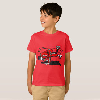 Old schoolhip hop Breakdancer T Shirts