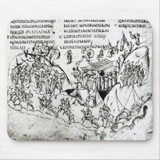 Olika platser som illustrerar en psalm 2 musmatta