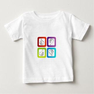 Olika symboler för något liknande t shirt