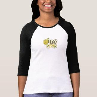 Oliv dig älskar jag dig T-tröja Tee Shirt