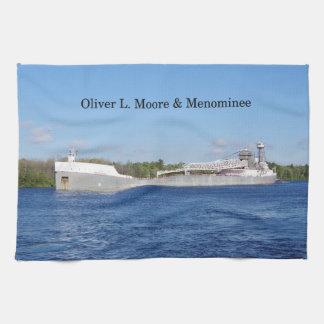 Oliver L. Moore & Menomineekökshandduk Kökshandduk