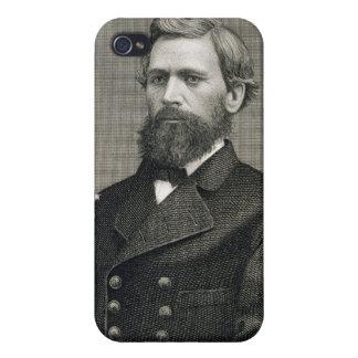 Oliver Otis Howard (1830-1909) som inristas av Rob iPhone 4 Skydd