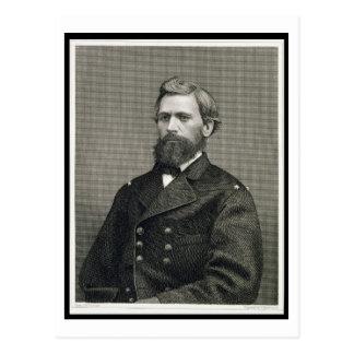 Oliver Otis Howard (1830-1909) som inristas av Vykort