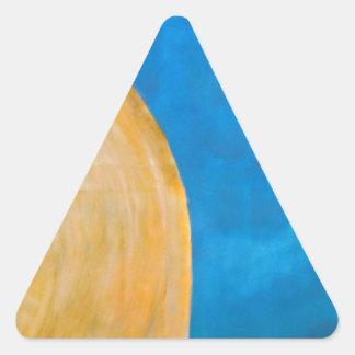 Olivet Triangelformat Klistermärke