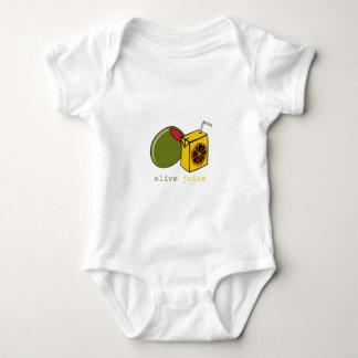 Olivgrön fruktsaft t-shirts