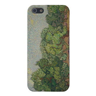 Olivgröna träd - Vincent Van Gogh iPhone 5 Fodral