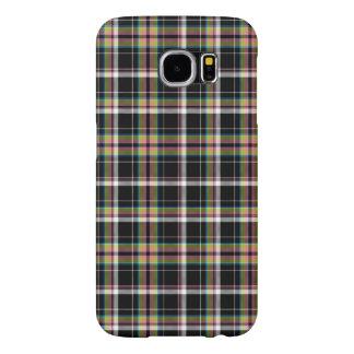 Olivgrönt' Tartanmönster för ` Galaxy S5 Fodral