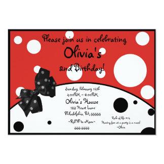 Olivia den inspirerade inbjudan för gris