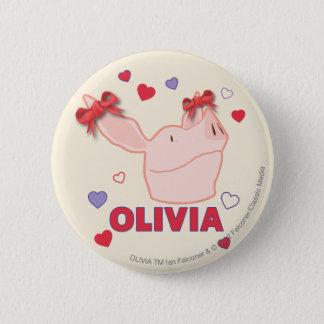 Olivia - hjärtor standard knapp rund 5.7 cm