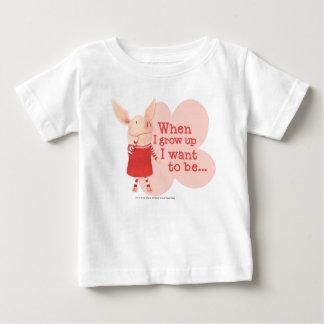 Olivia - när jag växer upp t-shirts