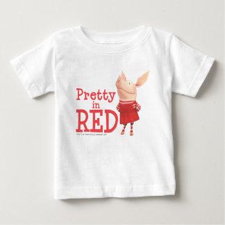 Olivia - söt i rött tshirts