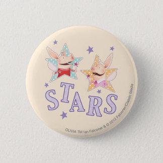 Olivia - stjärnor standard knapp rund 5.7 cm