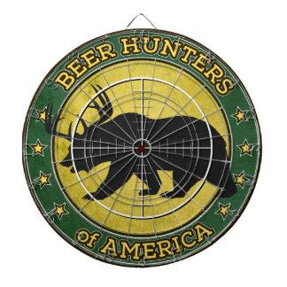 Öljägare av Amerika (den roliga björnen med horn p Piltavla