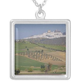 Olvera Andalusia, Spanien Silverpläterat Halsband